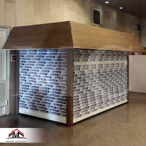 کانکس فروشگاهی S5010OX چوب ترموود