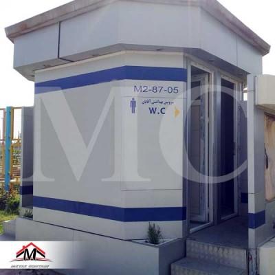 کانکس سرویس بهداشتی T5030OC کامپوزیت