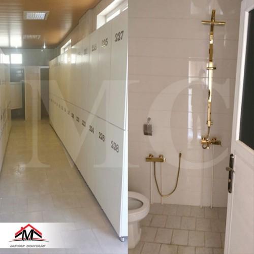 کانکس حمام B5010AP ساندویچ پانل